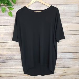 LuLaRoe Tops - LuLaRoe Solid Black Irma Tunic Size Small